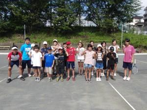 富士スポーツクラブのテニス教室